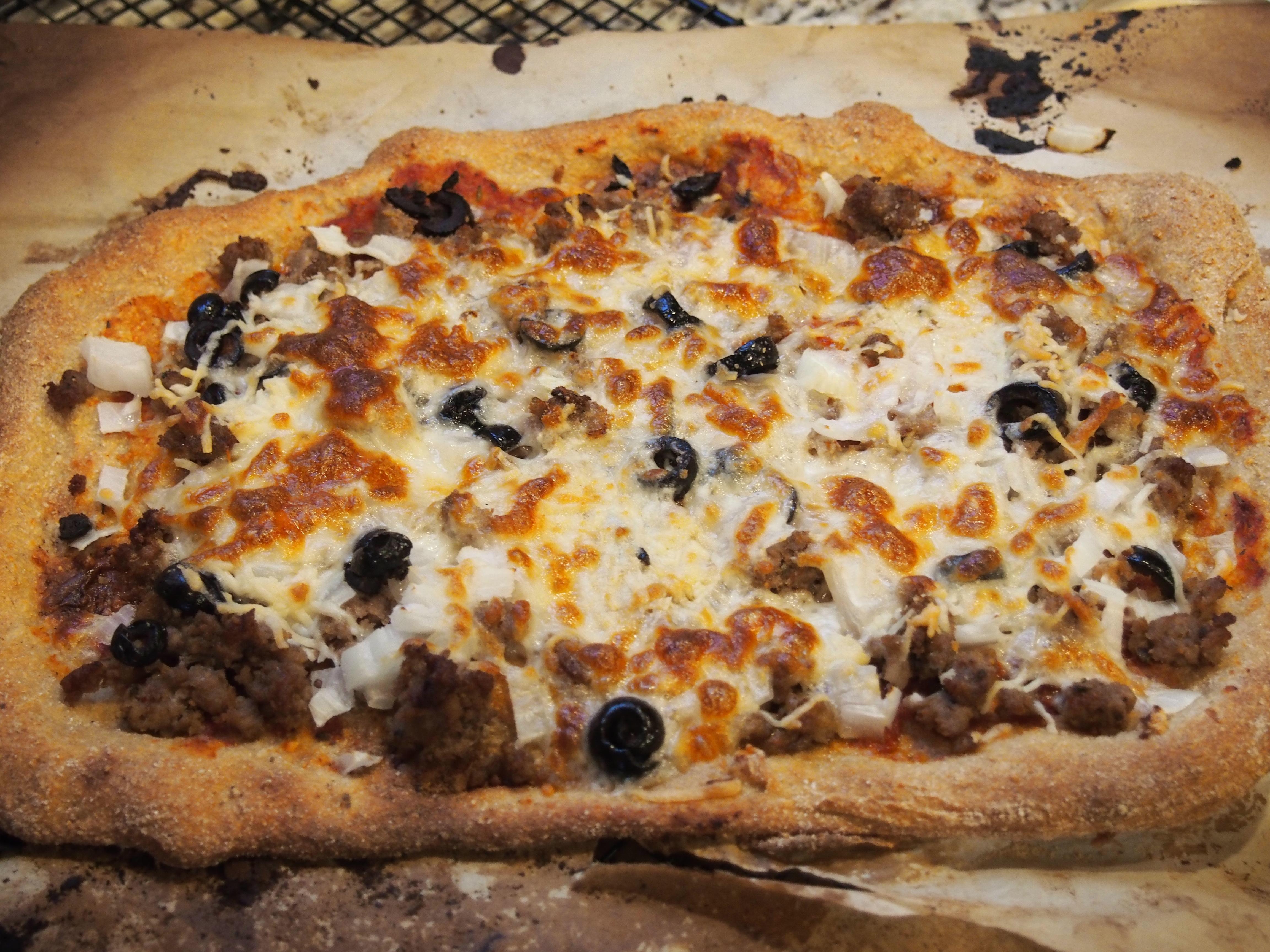 Sourdough Beer Pizza Crust My Kitchen Clatter